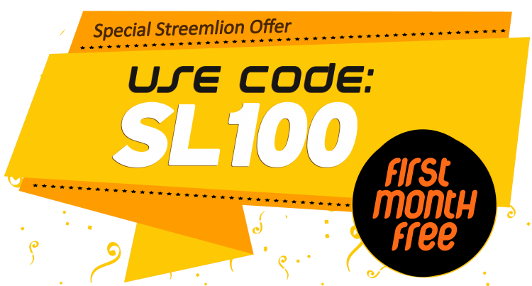 Start your Internet Radio. Use Coupon SL100