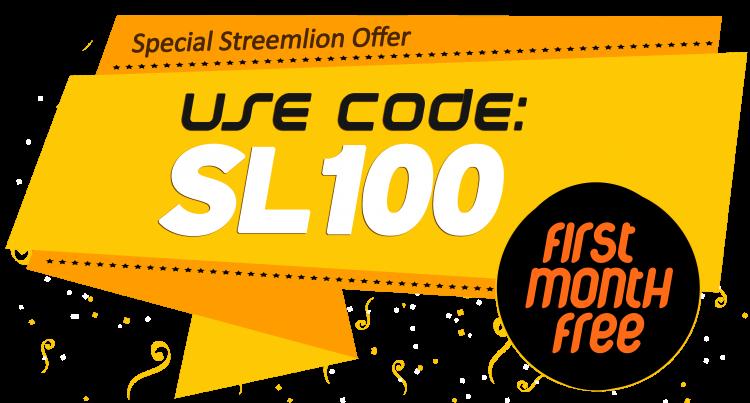 Start your Internet Radio. Use Coupon SL100